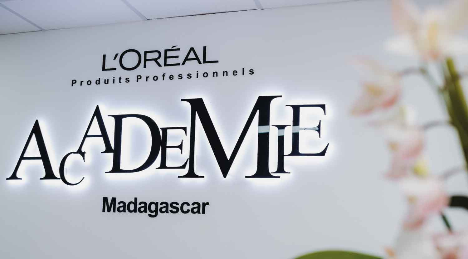 L'Oréal Professionnel Academy, training center
