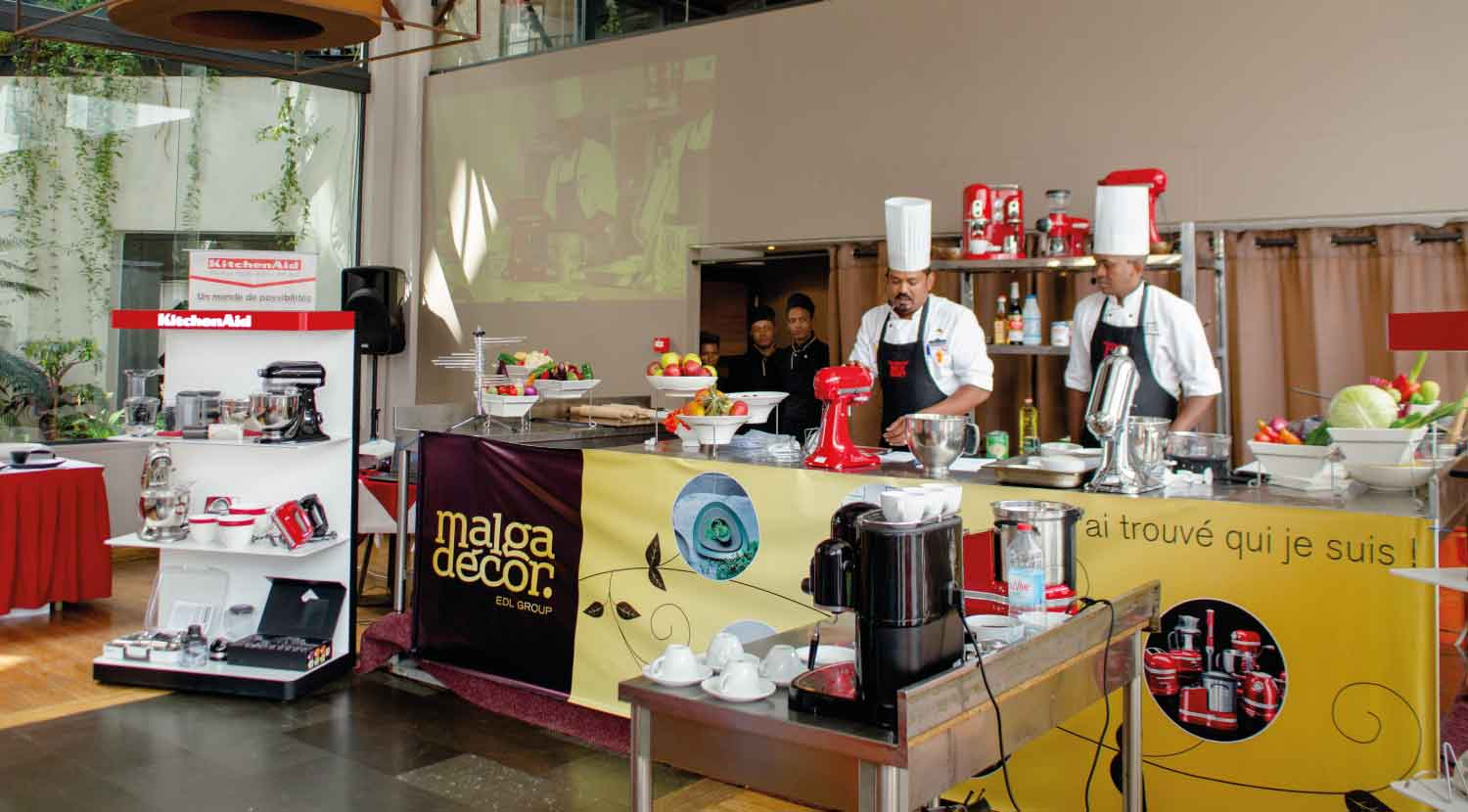 Atelier KitchenAid, the gourmet meeting